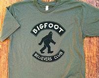 Bigfoot Believers Club T-shirt