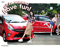 GadisMagz with Toyota