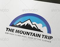 The Mountain Trip Logo Template