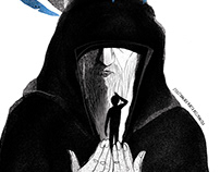 "Illustrasions for Adamada ""Tabletki na dorosłość"""