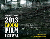 2013 Tacoma Film Festival Poster