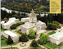 Aerial Photo of Washington State Capitol