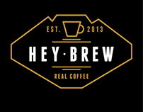 HEY BREW COFFEE | CORPORATE IDENTITY
