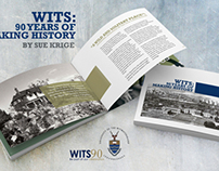 Book Design - WITS: 90 Years of making history