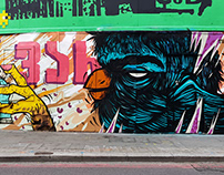 London, old street (supported by Global street art )