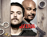 LETHAL WEAPON (revised original poster)