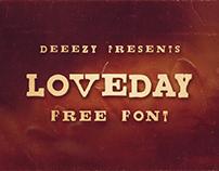 Loveday - Free Font Deeezy