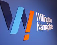 Willington Nameplate