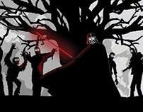 Festa de Hallowen Flyer