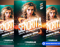 Night Club Party Flyer - Photoshop Templates