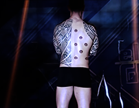Ink Mapping - Video Mapping Projection on Tattoos