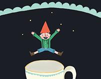 Jumping elf ·Gif·