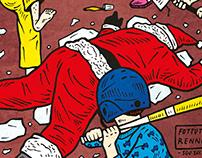 Fottute renne. / Editorial Illustration - SBM#7