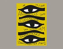 Staatstheater Mainz – Antonius and Cleopatra (Poster)