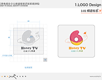 Honey TV Visual Identity Systerm