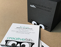 Creative Fish Studio Business Cards