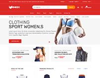 Venezo - eCommerce Bootstrap 4 Template