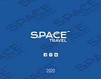 Space Travel - редизайн логотипа
