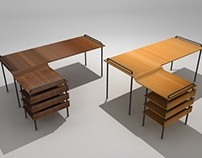 Mesa Trastal Modelação 3D // Trastal Table 3D Modeling