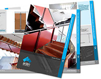 Arden - set of 24 brochures, and web design