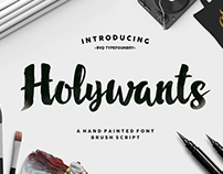 Holywants realese !!!