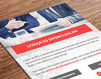 Flyer & Newsletter | Suporte Online