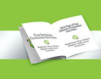 Free Photoshop Mockup - Booklet Mockup
