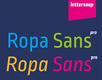 Ropa Sans Pro | Free Font