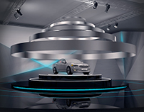KIA Cadenza reveal event design Dubai