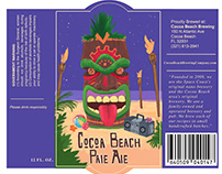 Cocoa Beach Craft Beer Label Redesign