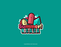 Summer Nostalgia Sticker Pack