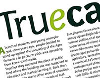 Trueca font
