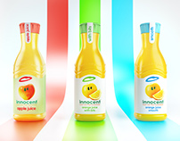 Innocent Juices - Full CGI & Retouch