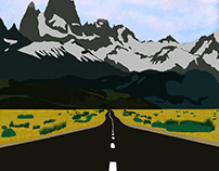 Landscape, mountains (2018)
