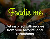Foodie.me - Coming Soon Page