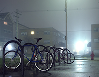 Foggy Night Photography