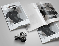 Simple Fashion Magazine Template