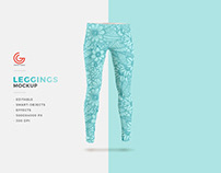 Free Fashion Leggings Mockup PSD