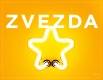 Landing and online store for Brand agency «Zvezda»