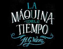 """""""La Máquina del Tiempo"""" Book cover"""