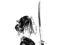Samurais (and cat).