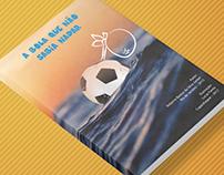 Livro A Bola que não Sabia Nadar