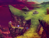 Zoombinis! Background Design