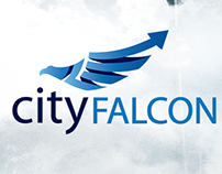 CityFALCON front-end interface, mobile UX/UI