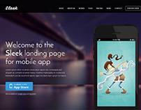 SLEEK - WordPress Landing Page