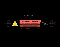 HUD UI INFO Concept Inspired Cyberpunk 2077