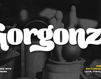 Gorgonzo typeface