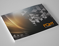 Font Advertising Catalog