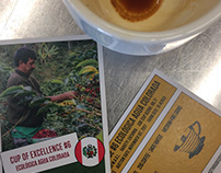 Coffee Trading Card, Roast House Coffee - 2018