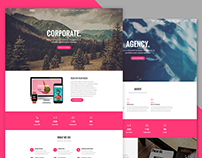 Rose - Responsive Multipurpose One page Template